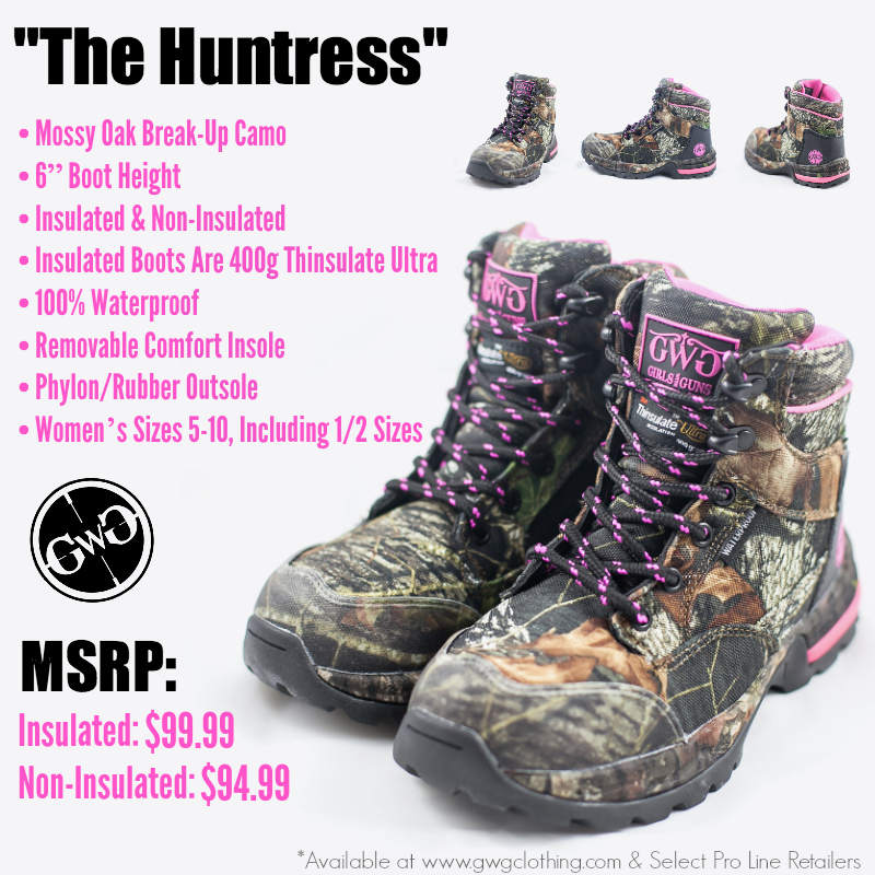 Huntress 6 Quot Boot Camo Non Insulated Hunting Boots