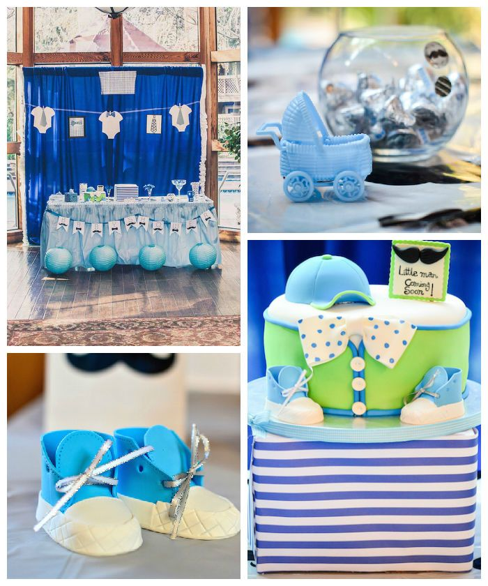 Awesome Little Man Mustache Baby Shower Via Karau0027s Party Ideas KarasPartyIdeas.com  | Party Supplies, Printables, Banners, Recipes, Tutorials And More!