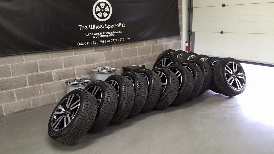 Some wheels dropped off by a trader at TWS #Chester | Chester ...