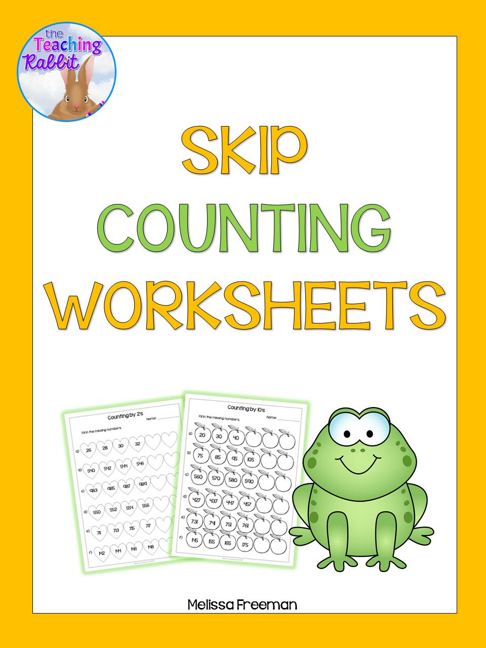 Skip Counting Worksheets Skip counting, Free math