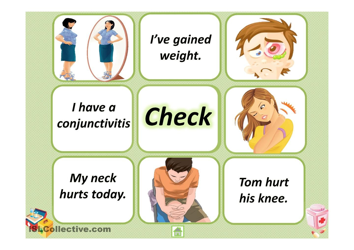 Memory game. Health problems!