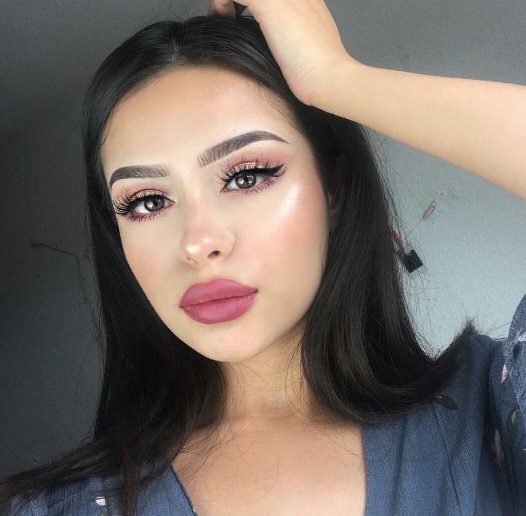 pinterest nandeezy † Full face makeup, Stunning