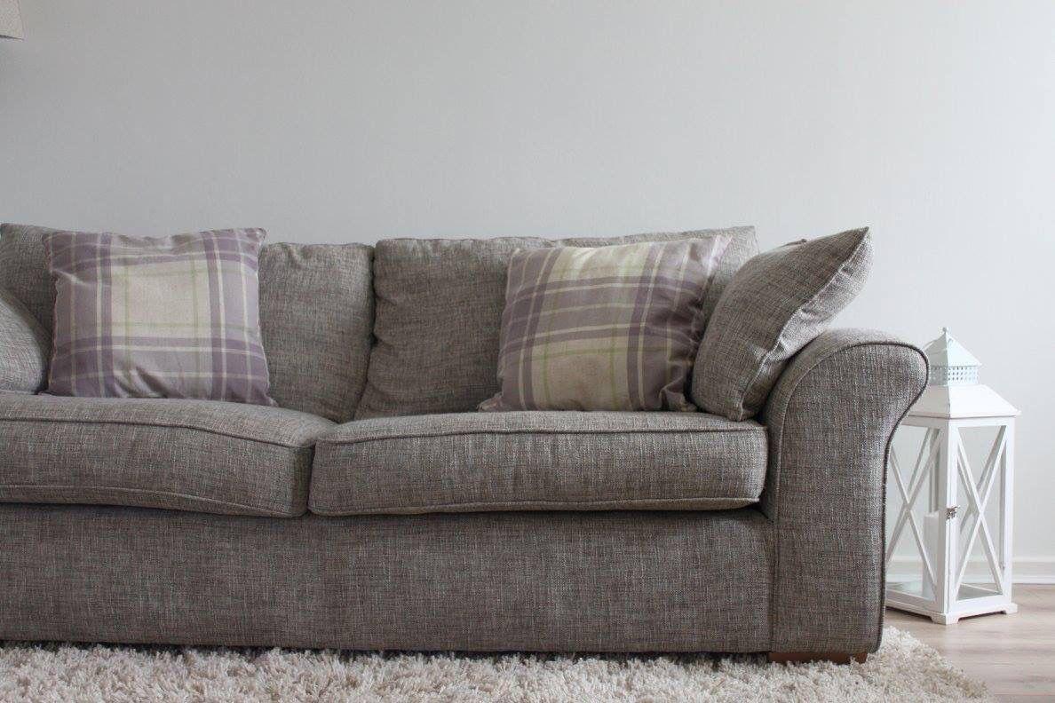 Cushions  #interior #home #furnishings #grey #white #purple