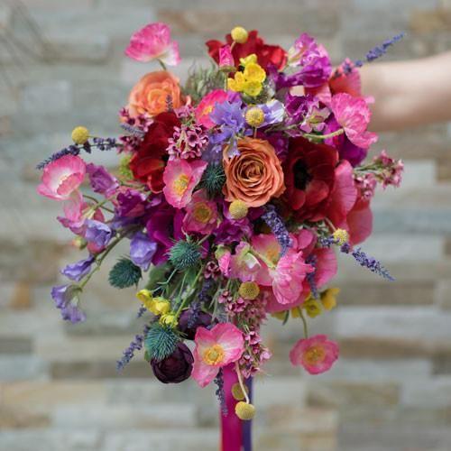 Silk Wedding Bouquet | Silk flowers, Wedding and Weddings
