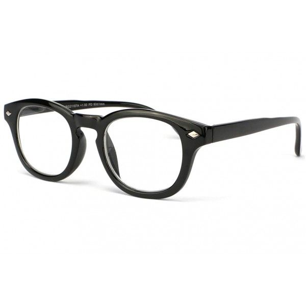 4f2bc38508536a Lunette loupe retro noir style chic monture confort Sartry, lunettes de  lecture homme et femme