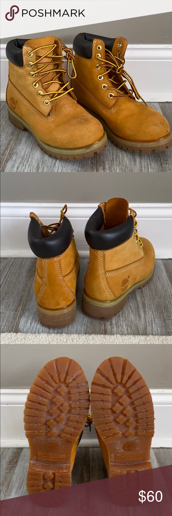 Timberland 6inch waterproof boots in