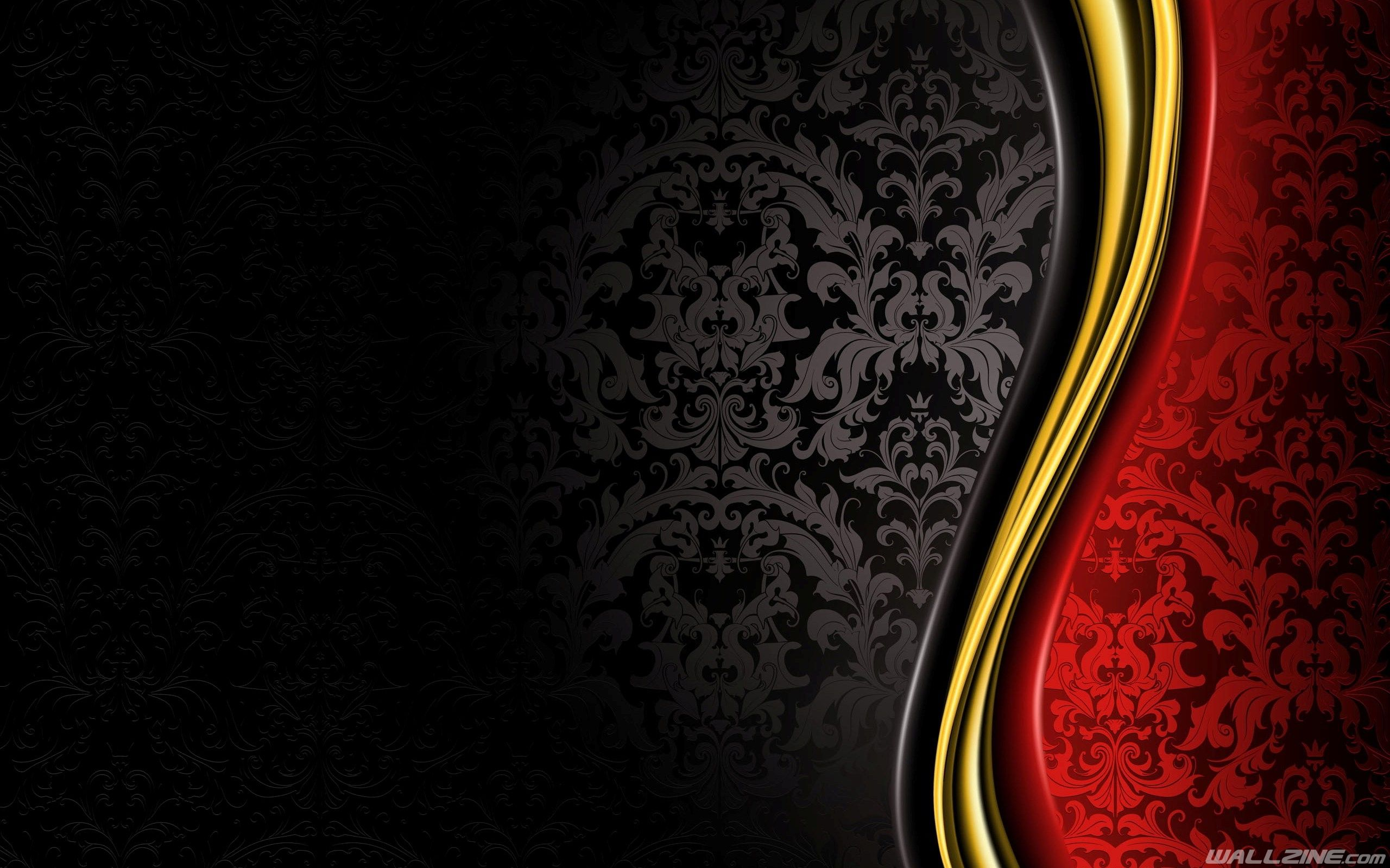 Luxury Desktop Background Vintage Red And Gold Wallpaper Background Images Wallpapers