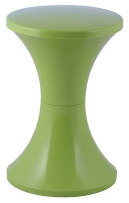Tabouret Tam Tam Pop Plastique Mojito Stamp Edition Green