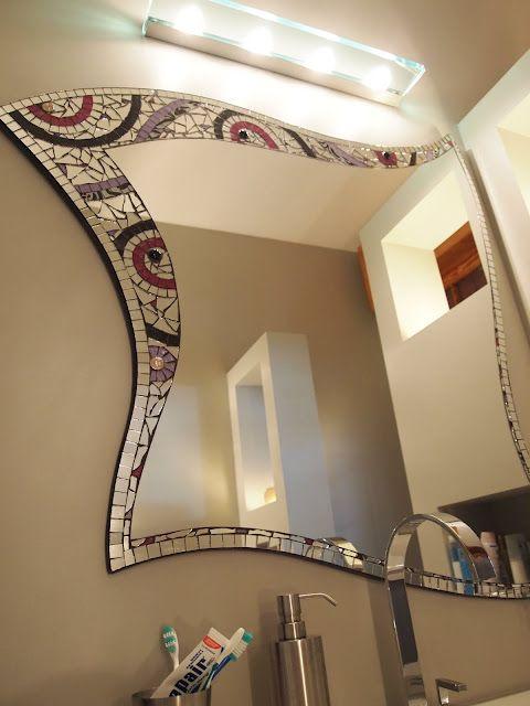 Mosaico E Gli Specchi.Specchio A Mosaico Mosaico A Specchio Arte Del Mosaico E