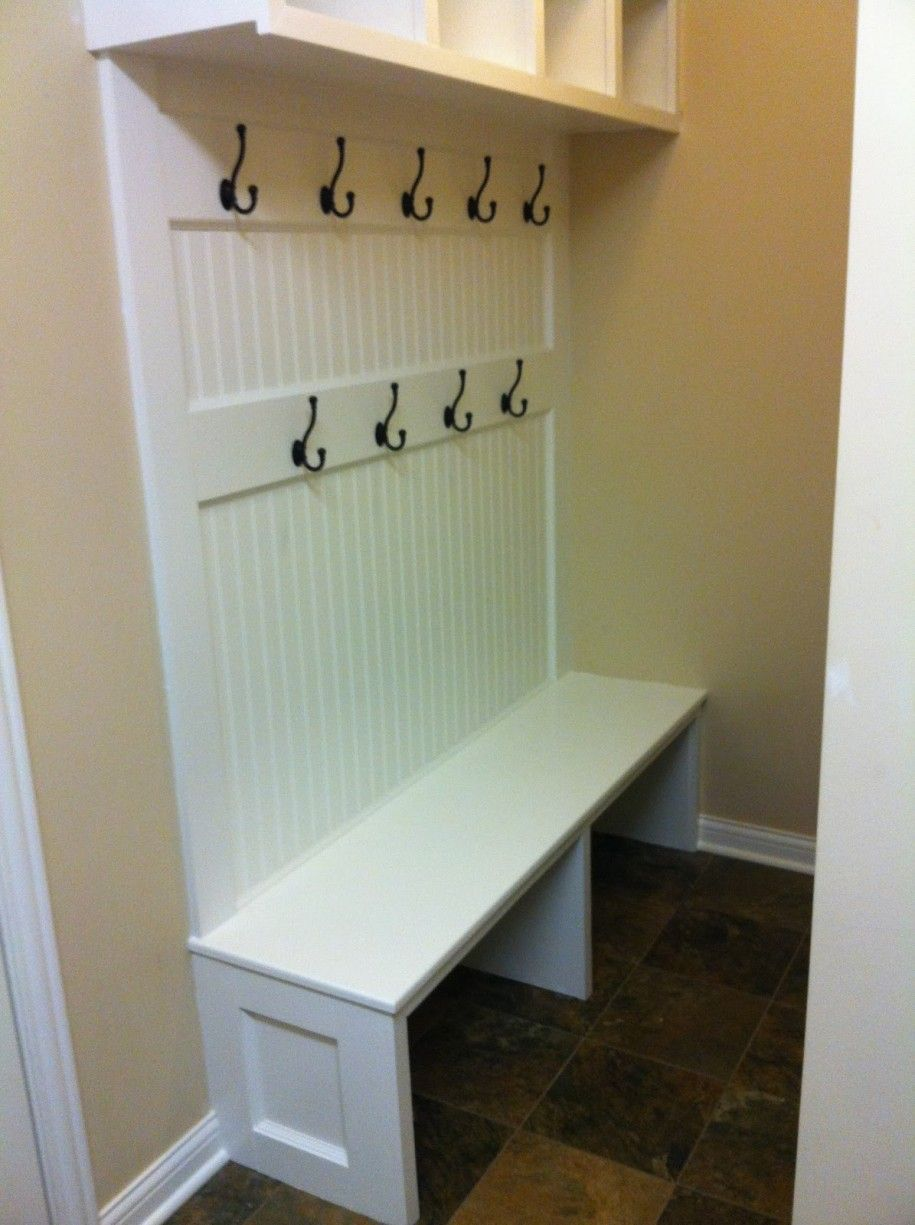 Mudroom Bench For Some Places: Extraordinary Mudroom Bench White Color  Interior Design Ideas ~ Dickoatts