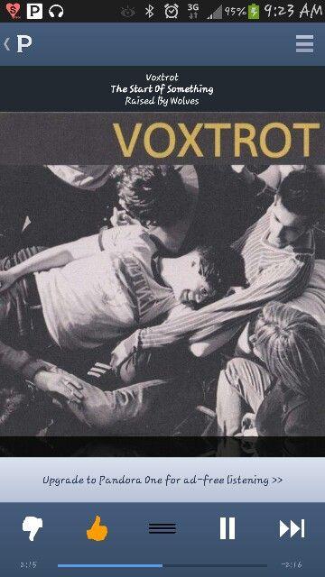 The Start Something Voxtrot Raised Wolves Listening
