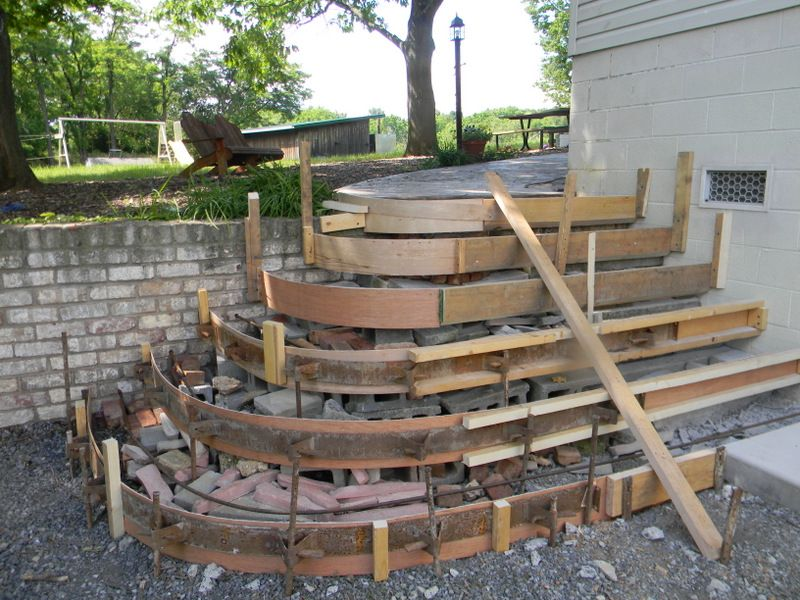 Framing Steps for Concrete