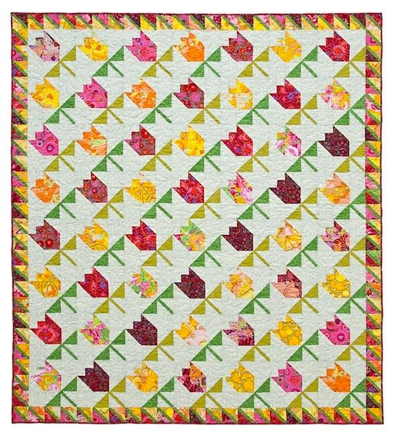 Tulips Quilt Pattern Pretending I Know How To Sew Pinterest