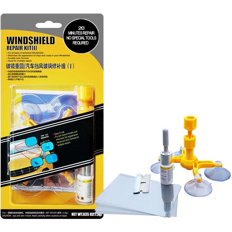 Car glass windscreen windshield diy repair kit set glass