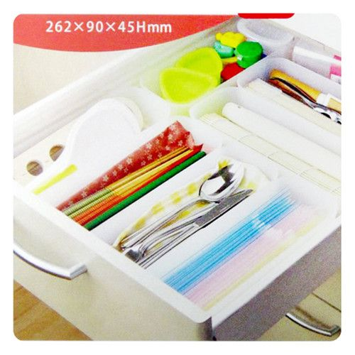 M Oblong Tidy Drawer Divider Storage Organize Box YM | eBay