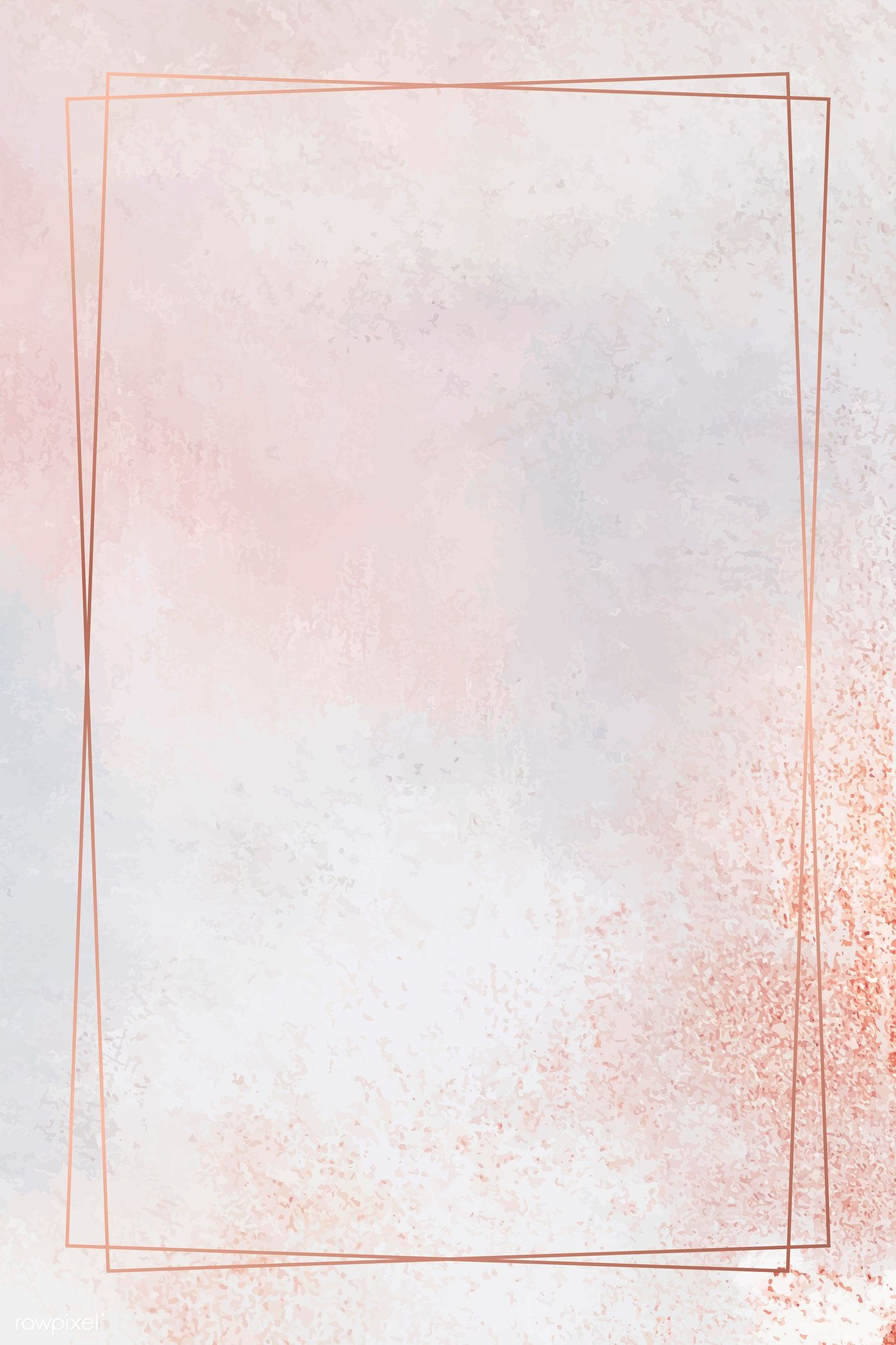 Download premium vector of Rectangle copper frame on pastel background vector by Ning about orange  background, background, metallic colour backgrounds, pastel background, and rectangle background 1221766
