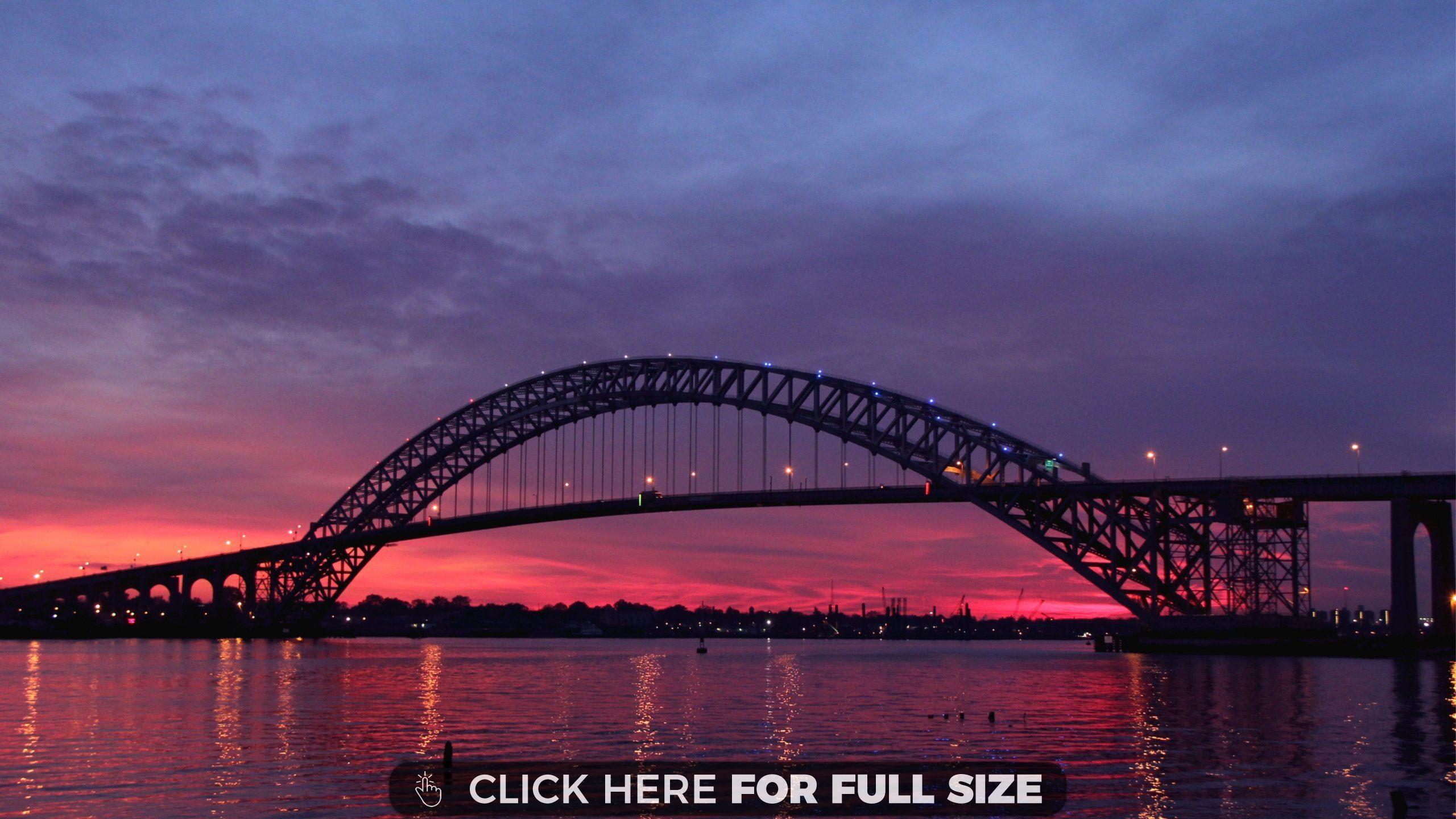 new jersey bridge usa wallpaper   desktop wallpapers   pinterest
