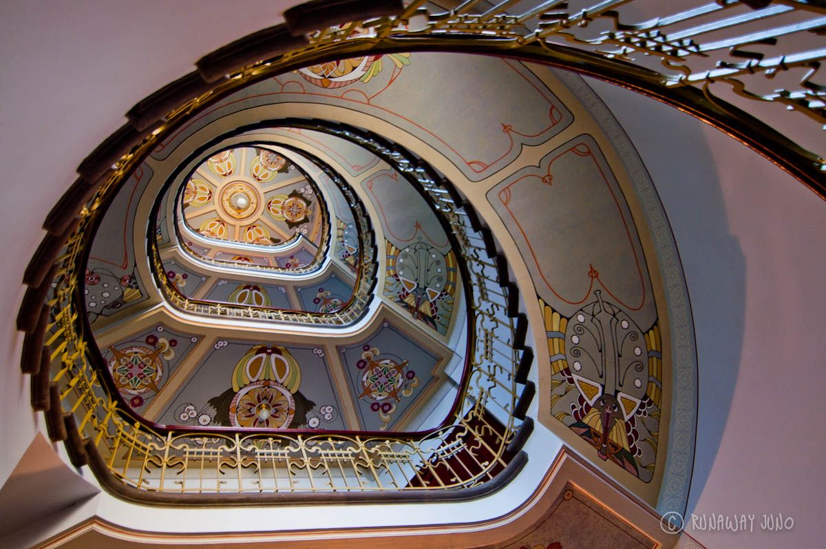 Art Nouveau Riga Museum Staircase Of Art Nouveau Museum In Riga Latvia Great Styles