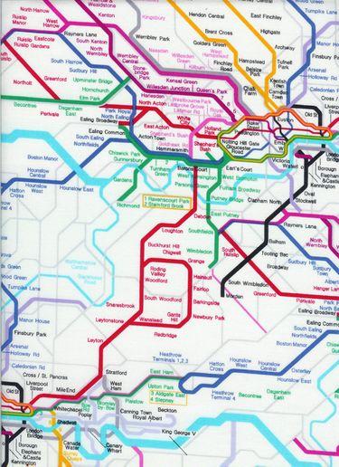 Timeless Treasures British Metro Map London Karte Etsy At Least