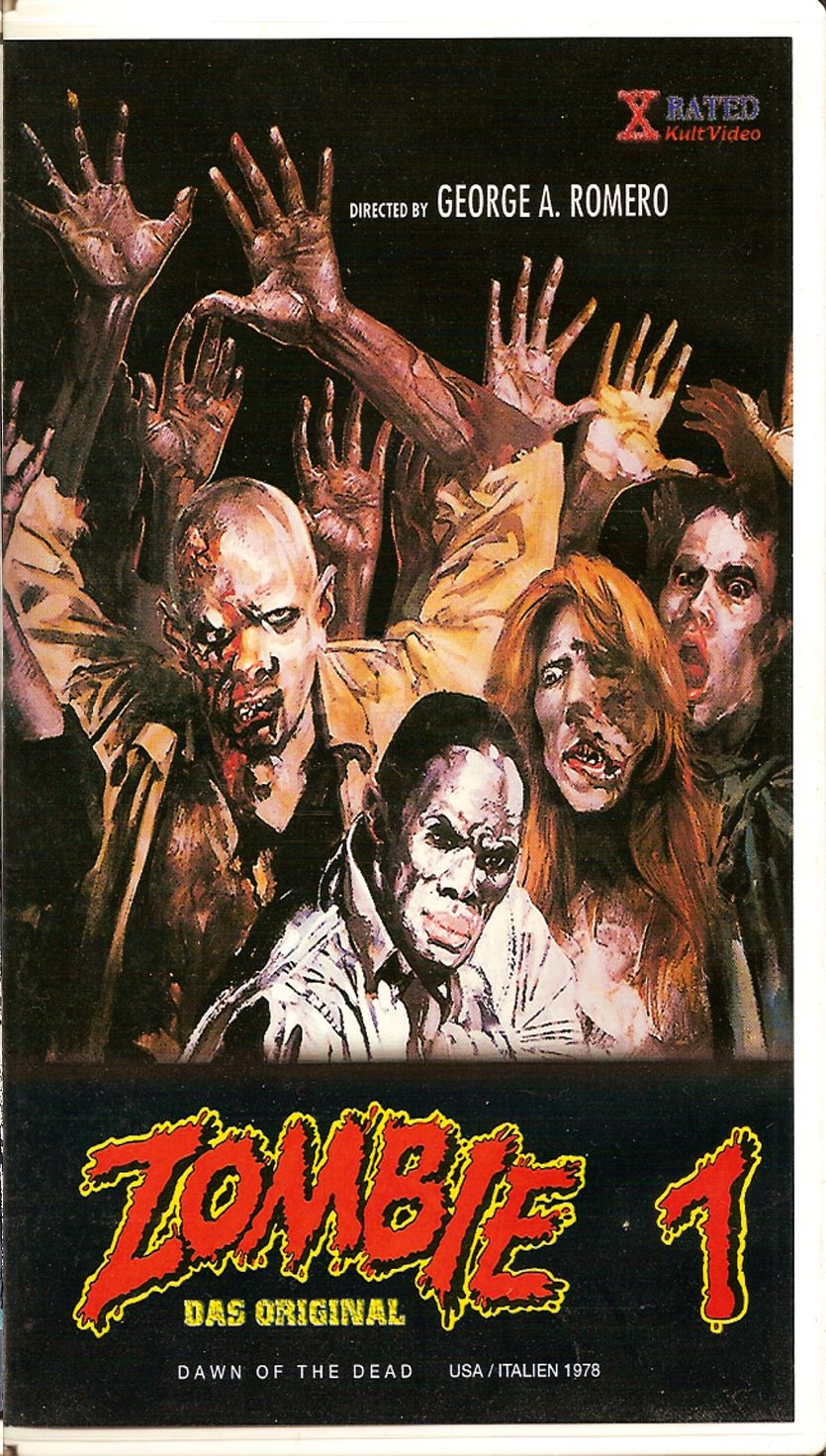 Zombie 1 Aka Dawn Of The Dead 1978 Zombie Movies Horror