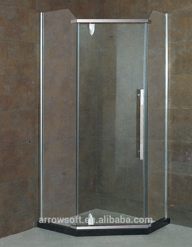 US $30 - 2,000 / Set hotel glass bathroom shower box cheap shower ...