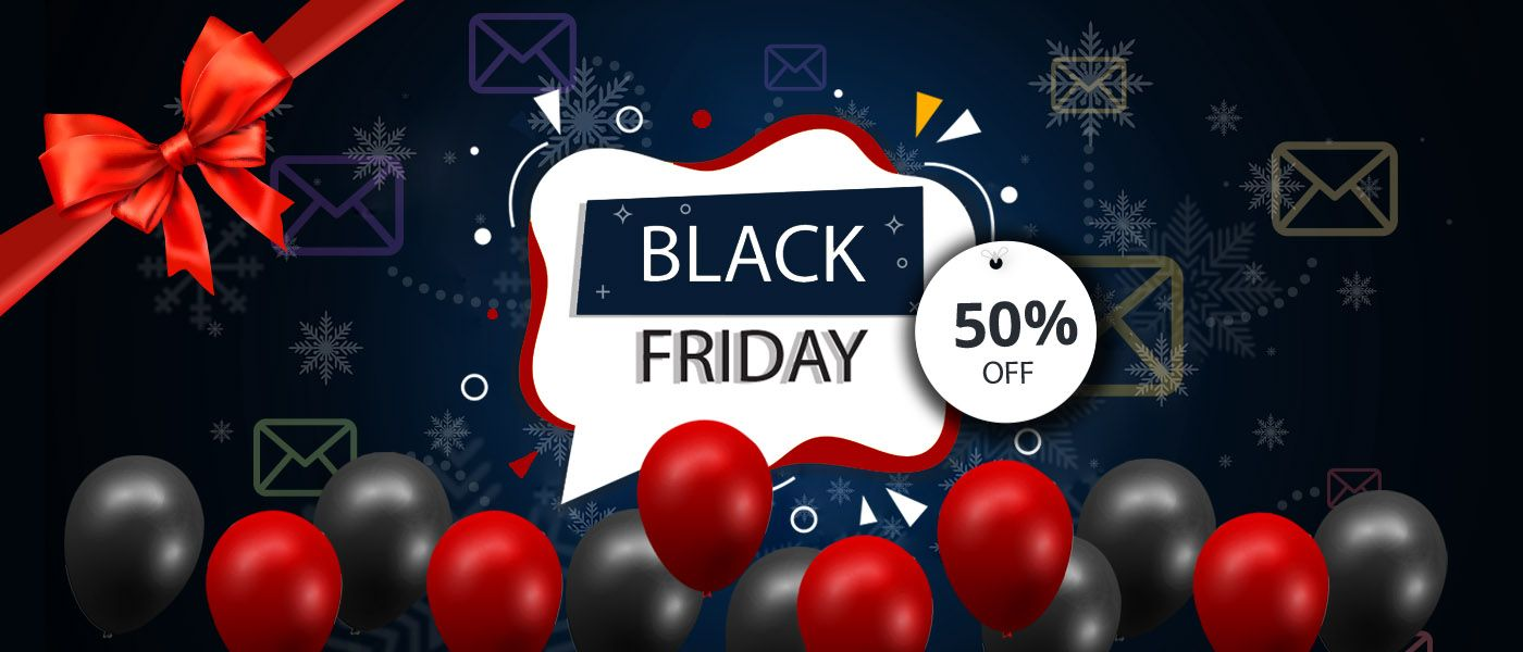 This blog talks about how online retailers use different email templates to woo customers on Black Friday. #blackfriday #blackfriday2019 #blackfridaysale #blackfridayemails #blackfridaycampaign #blackfridaycampaigns