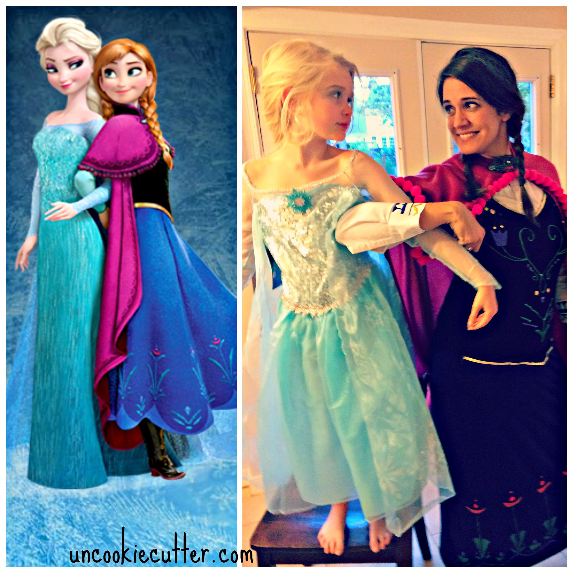 no sew adult anna frozen costume for cheap anna frozen. Black Bedroom Furniture Sets. Home Design Ideas