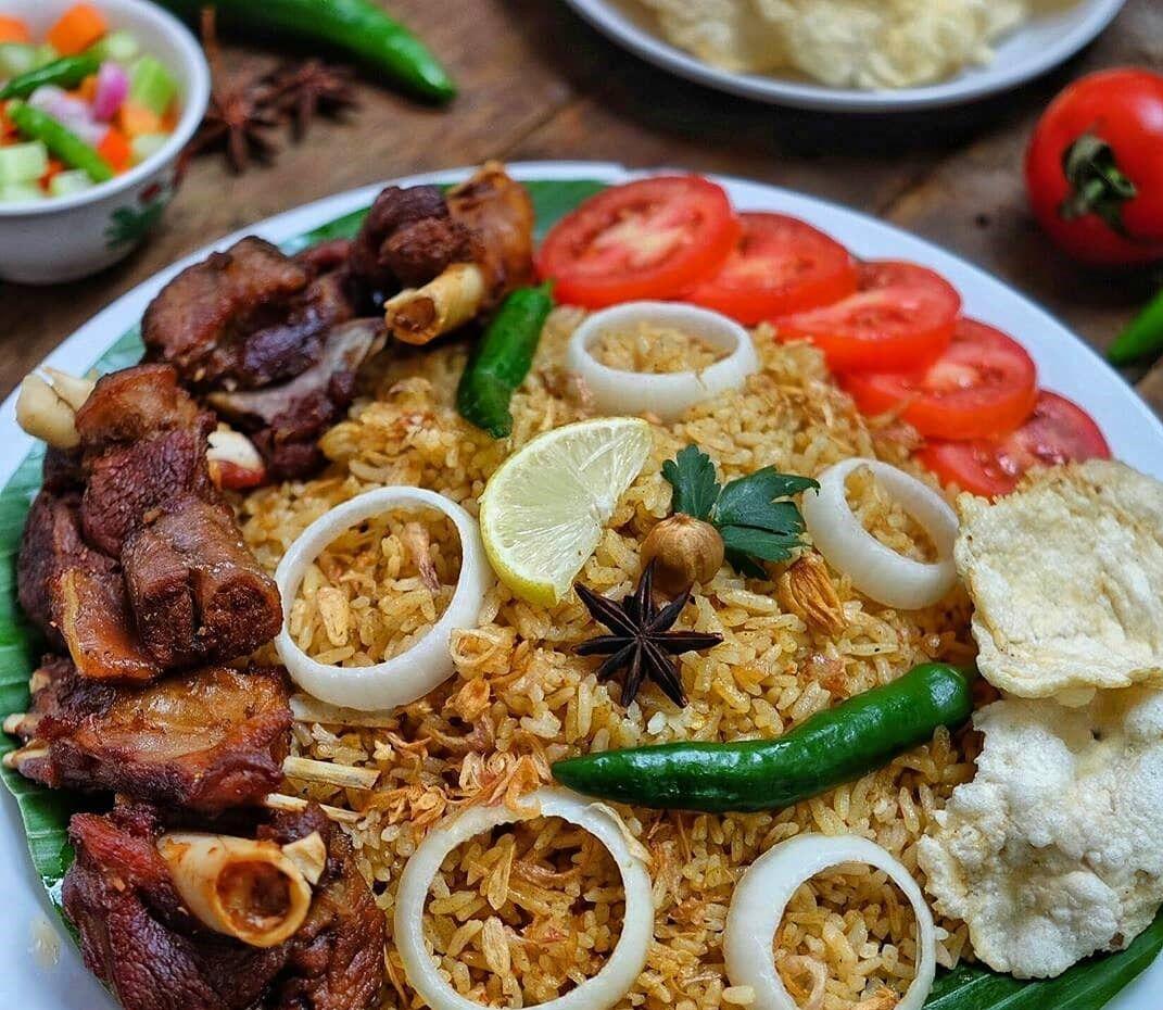 Resep Nasi Kebuli Kambing Rice Cooker Istimewa Resep Resep Resep Daging Daging Kambing