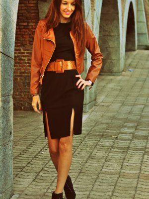 Vestidos marrones invierno
