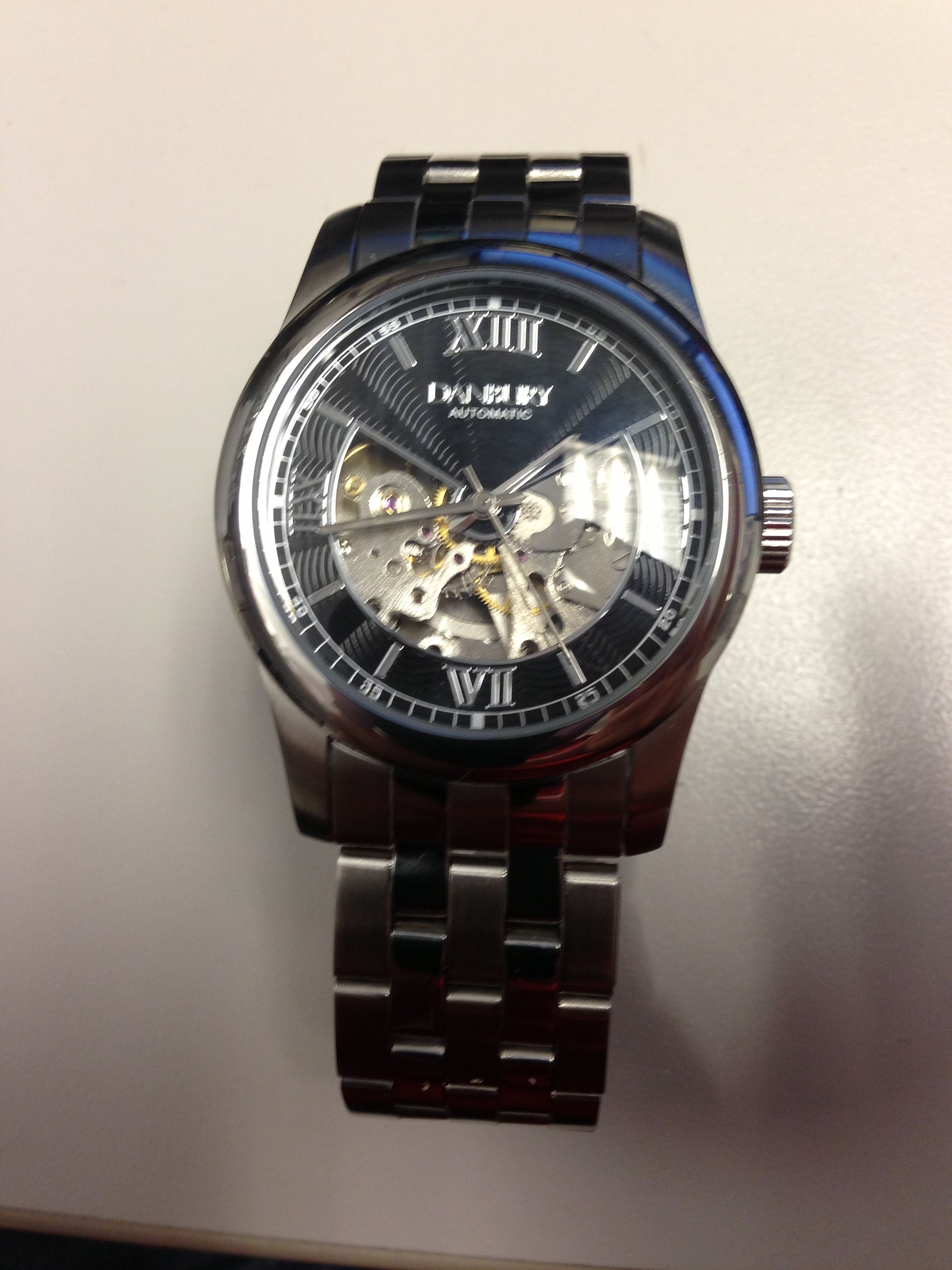 Danbury automatic watch | Time Keepers | Pinterest