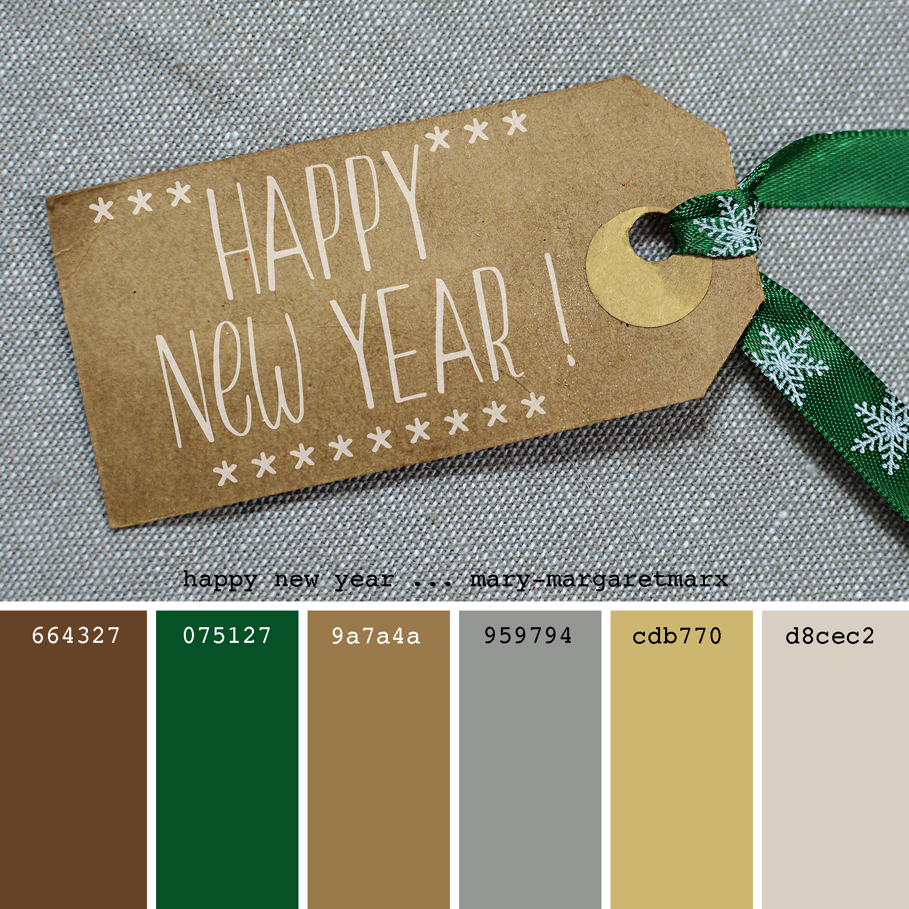 Happy New Year Mary Margaretmarx Color Colors