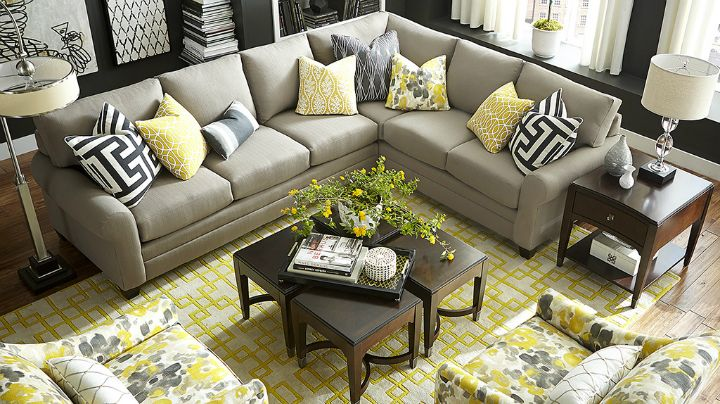 22 Real Living Room Ideas Decoholic Yellow Living Room Livingroom Layout Living Room Grey