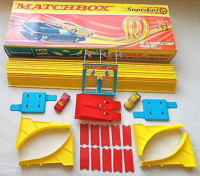 1969 Matchbox Lesney Sf 4 Double Loop Race Set With 2 Superfast Cars Excellent Http Www Matchbox Lesney Com P 5930 Matchbox Cars Matchbox Toy Car