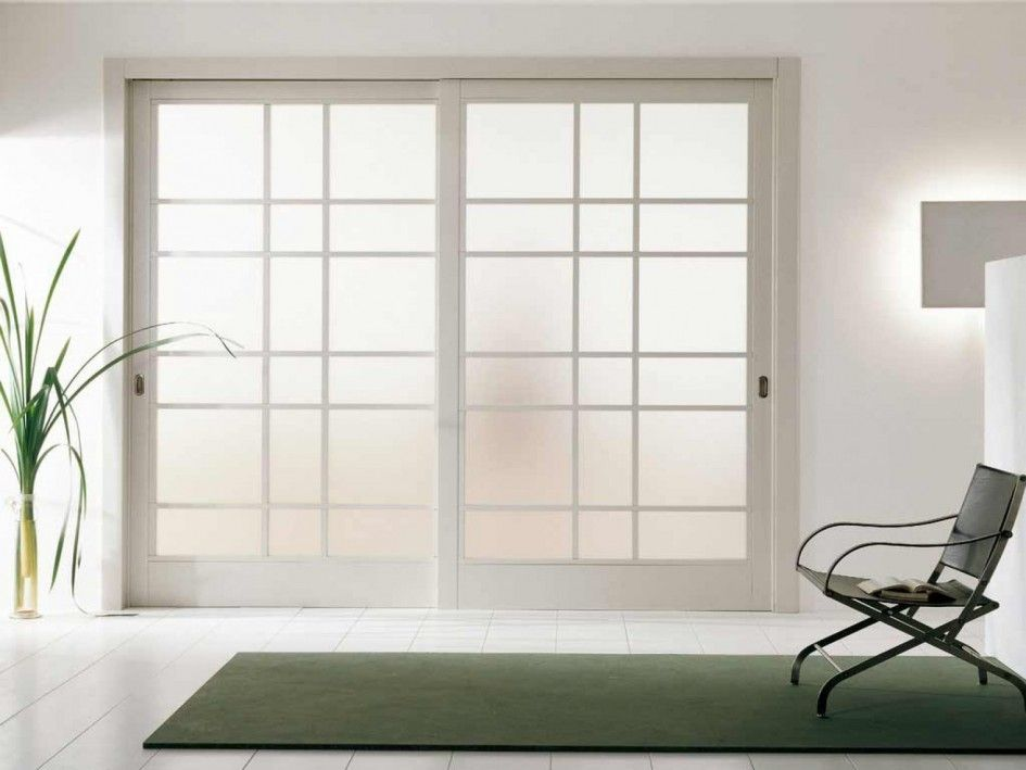 white wooden frosted glass sliding door with room divider also japanese sliding room dividers ideas