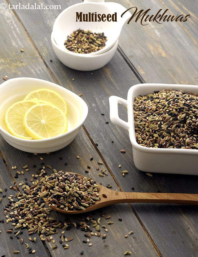 Multiseed Mukhwas ( Omega3 Fatty Acids and Fibre Rich