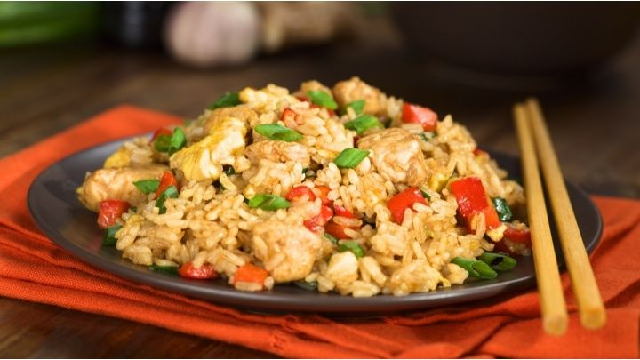 Cheater's chicken fried rice - Netmums