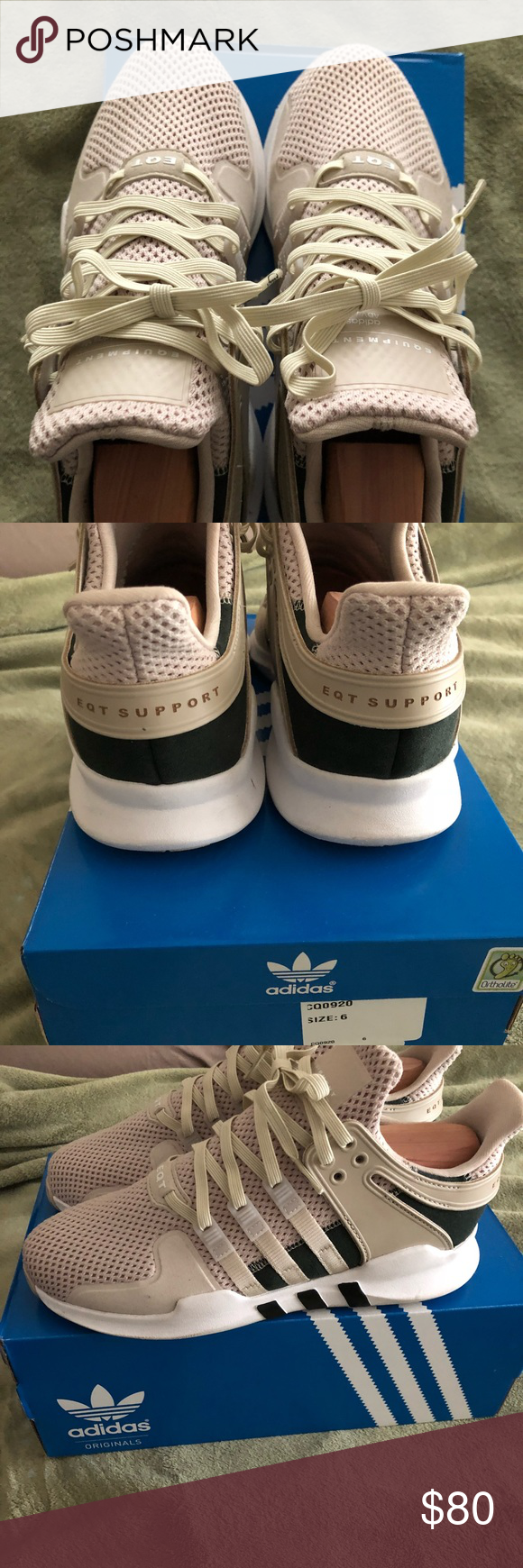 lowest price 09be0 c26cd Adidas EQT Support ADV J Grade School Boys Size 6 These ...