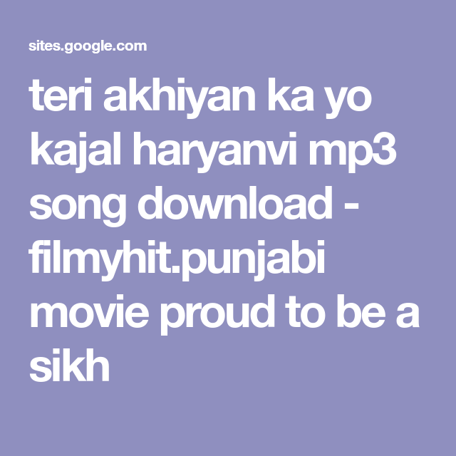 teri aakhya ka ye kajal mp3 song download mr jatt