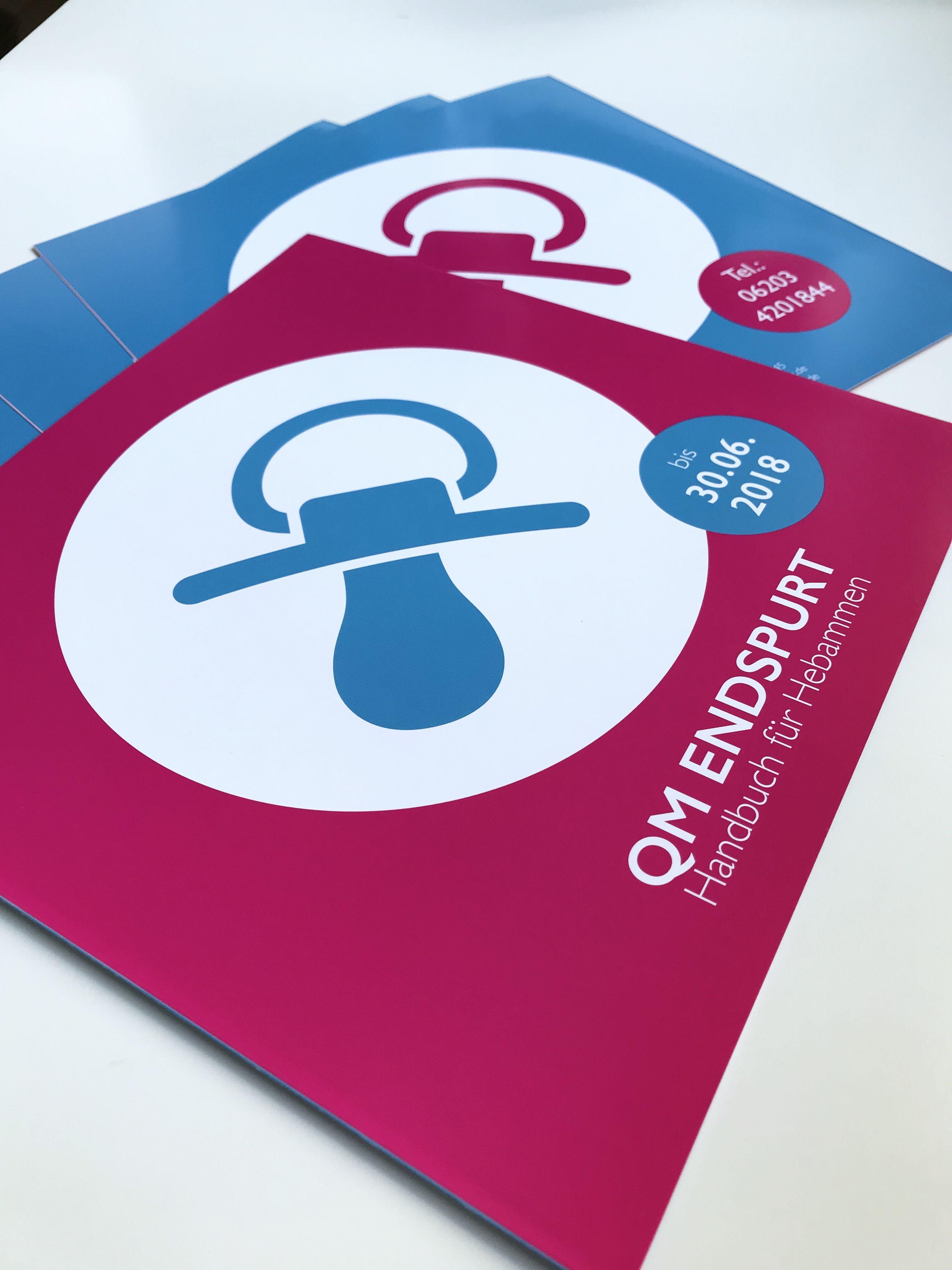 Unsere Flyer Für Die Qm Hebammenmesse In Mannheim Flyer