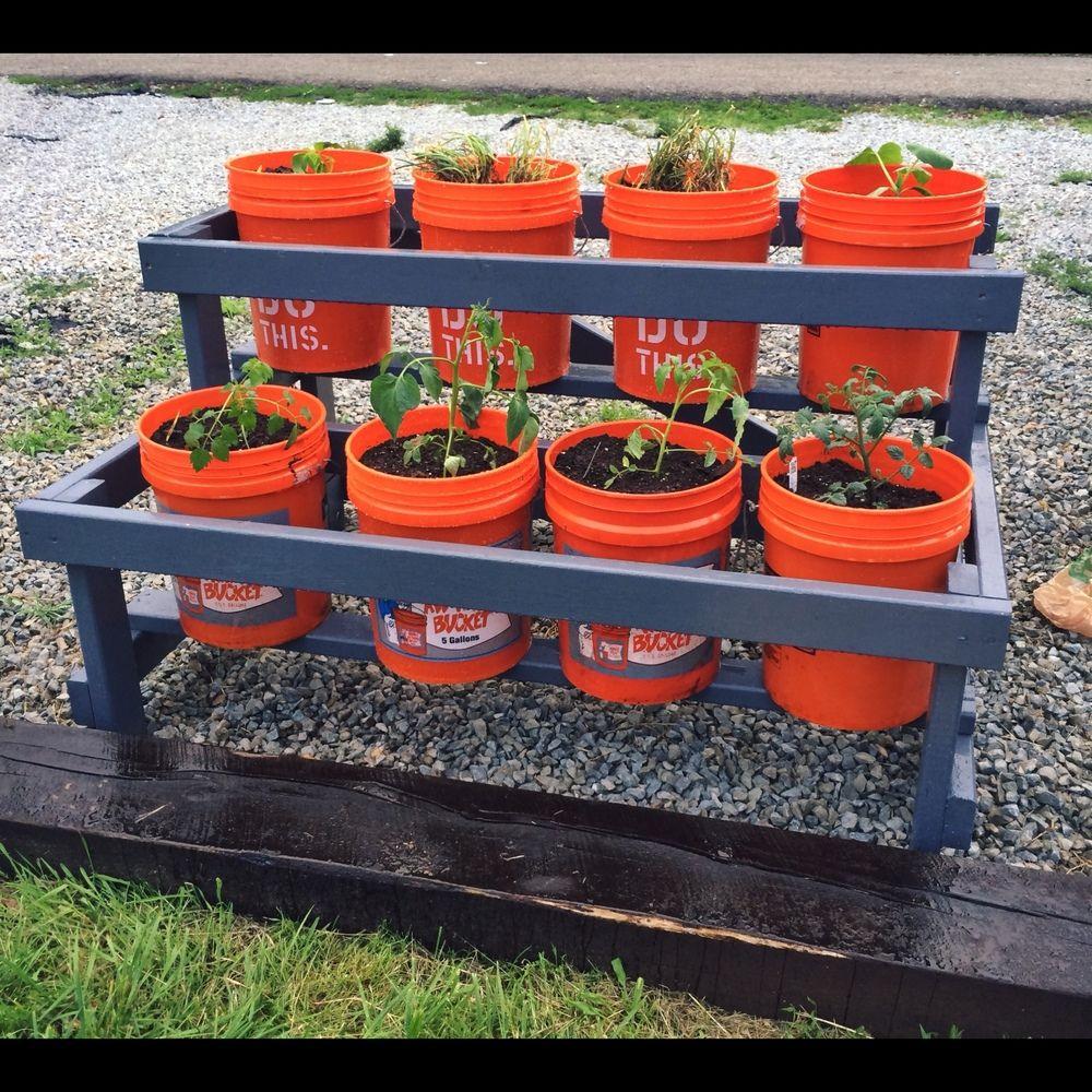 Bucket Garden Diy Ideas Bucket Gardening Build Plans 400 x 300