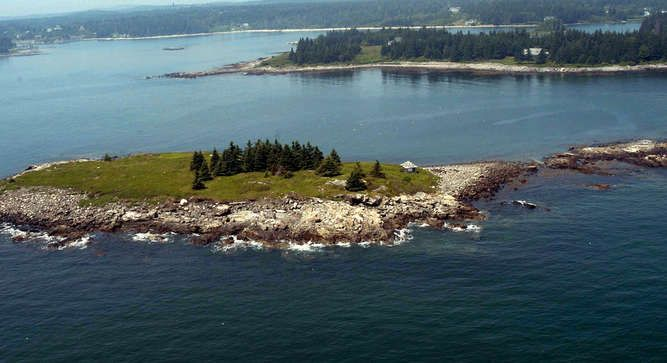 Greer Island - Maine, United States 5 acre private island $555k