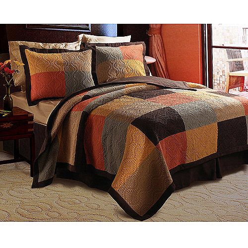 Love the warm colors | King size quilt sets, Quilt sets, King size
