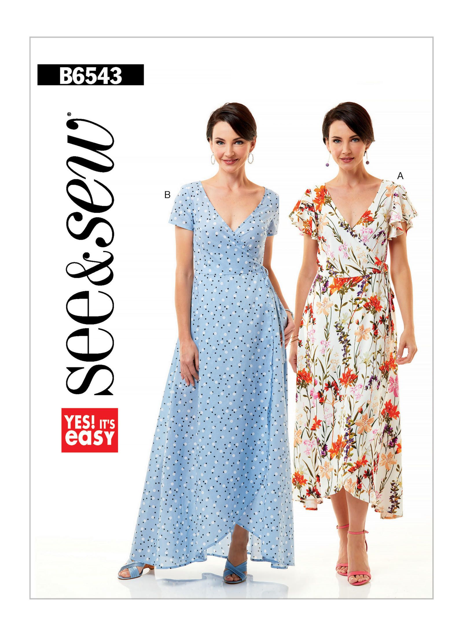 B6543 | Butterick Patterns | Sewing Patterns | Funn with