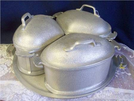 Another style of lids to go with my pot, oh my how will I ever find them.