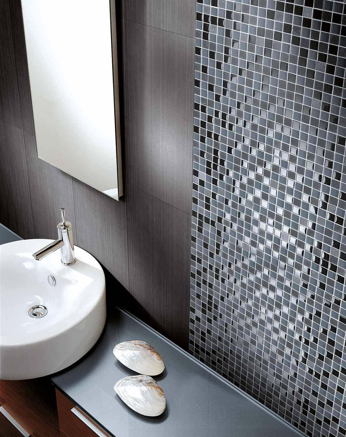 Schwarze Mosaikfliesen Badezimmer Mosaik Mosaikfliesen Mosaik Fliesen Bad