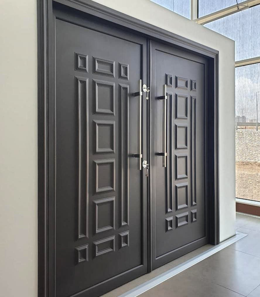 Faham On Instagram جديد أبواب المنيوم خارجيه تفصيل المقاسات بألوان راقيه و تصاميم مختلفه مصممه خصيصا لتحمل Tall Cabinet Storage Storage Cabinet Storage