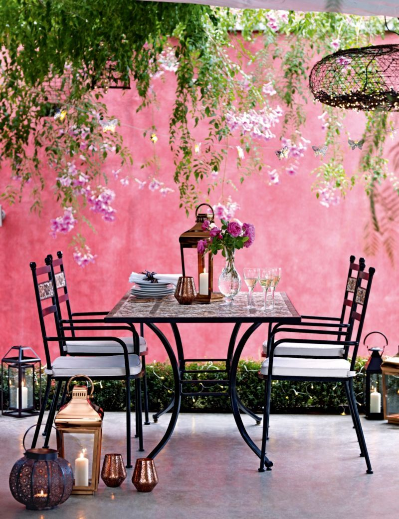 Verona Dining Table & 6 Chairs | M&S | Cottage garden | Pinterest