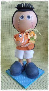 Vivendo em EVA: Bonecos personalizados