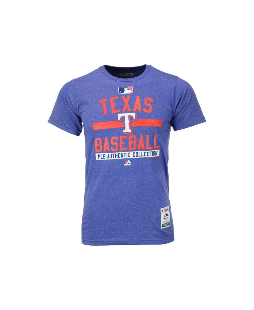 Majestic Men's Texas Rangers Team Property T-Shirt