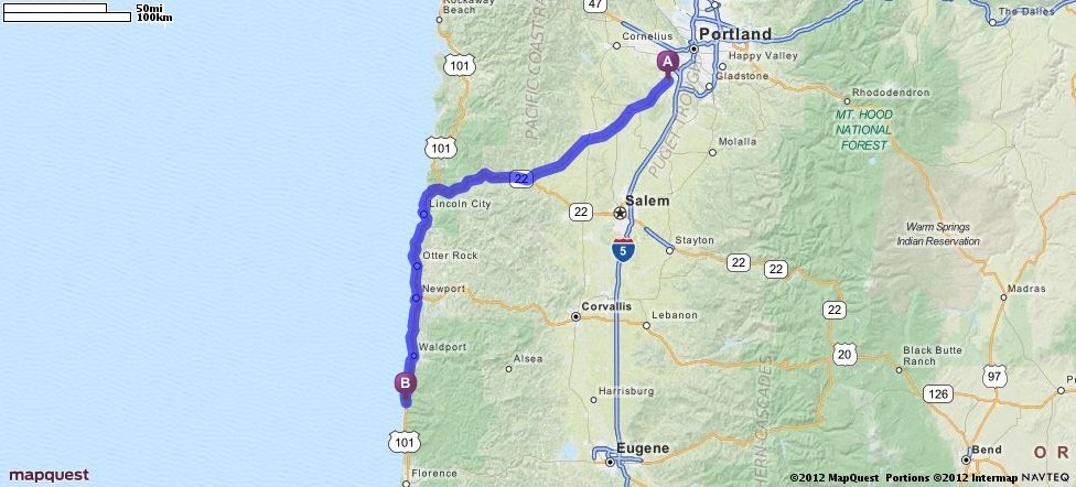 Driving Directions from 12070 SW Fischer Rd, Tigard, Oregon 97224 to Neptune State Park in Florence, Oregon 97439 | MapQuest